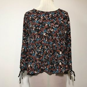 AE American Eagle Womens  Blouse Floral Festival S